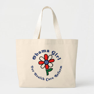 OG for Health Care Reform - Natural Jumbo Tote Bags