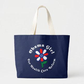 OG Health Care Reform-Dark Jumbo Tote, 3 colors Canvas Bags