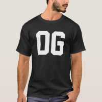 OG | Original Gangster Gangsta Ghetto Thug T-Shirt