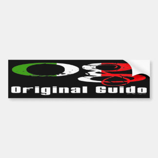 OG - Original Guido Bumper Sticker