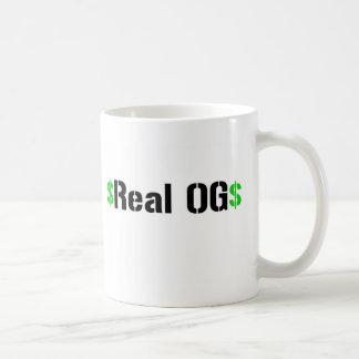 OG real Tazas De Café
