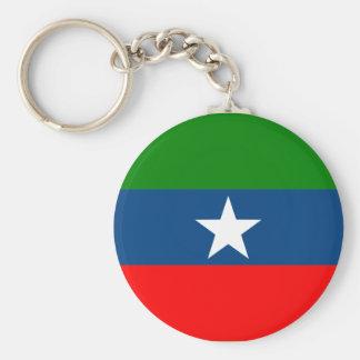 Ogaden, Ethiopia Basic Round Button Keychain