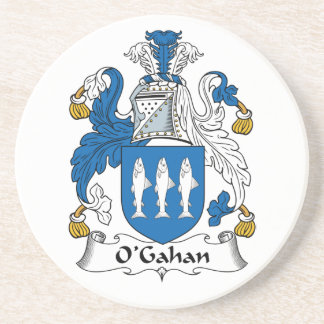 O'Gahan Family Crest Beverage Coasters