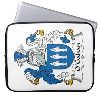 O'Gahan Family Crest Computer Sleeves