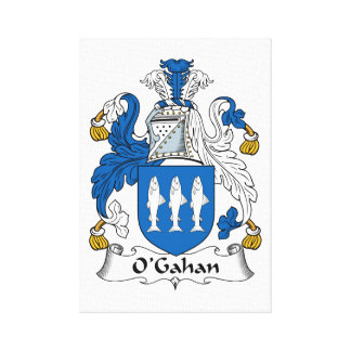 O'Gahan Family Crest Gallery Wrapped Canvas