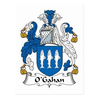 O'Gahan Family Crest Postcard
