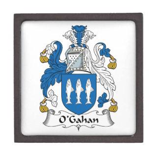 O'Gahan Family Crest Premium Trinket Boxes