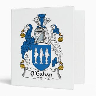 O'Gahan Family Crest Vinyl Binder
