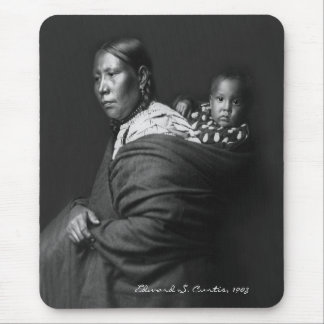 Ogala Mother and Child Mouse Pad