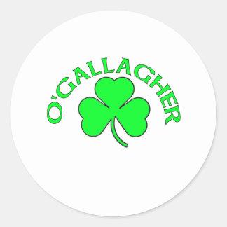 O'Gallagher Pegatina Redonda