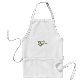 OGANICALLY GROWN ADULT APRON