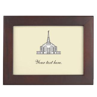 Ogden LDS Temple keepsake box (CUSTOMIZE)