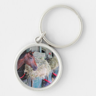 Ogden Phipps Stables with Scampering Keychain