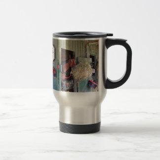 Ogden Phipps Stables with Scampering Mug