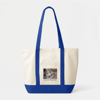 Ogden Phipps Stables with Scampering Tote Bag
