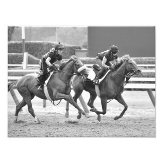 Ogden Phipps Stables Workouts Photo Print