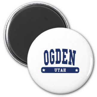 Ogden Utah College Style tee shirts Refrigerator Magnet