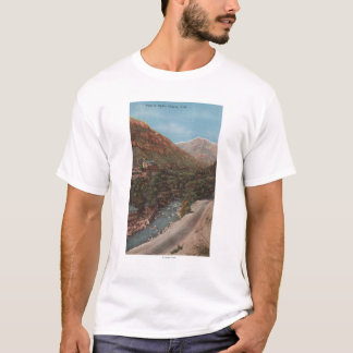 Ogden, Utah - Ogden Canyon View & River T-Shirt