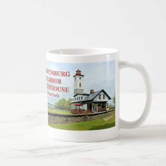 Ogdensburg Harbor Lighthouse, New York Coffee Mug