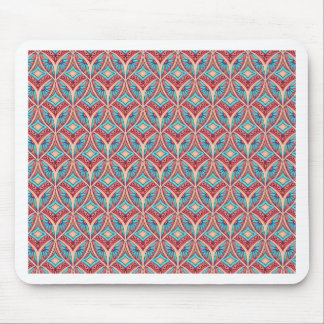 Ogee Floral Mouse Pad