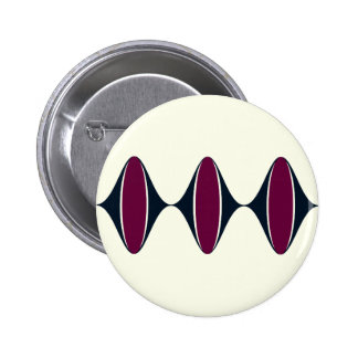 Ogee Sidle Pinback Buttons