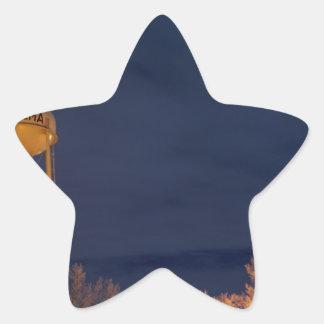 Ogema Sentinel at Night Star Sticker