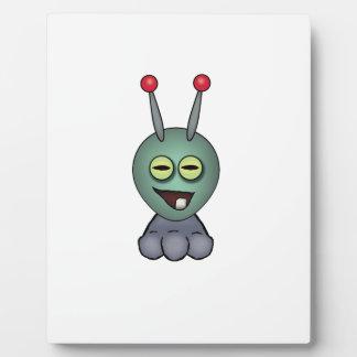 Ogglof Squashy Creature Plaque