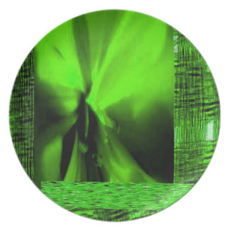 OGGUN ABSTRACT BY AES MELAMINE PLATE