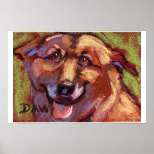 Oggy Doggy Print