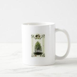 Ogham runes - Ioho Coffee Mugs