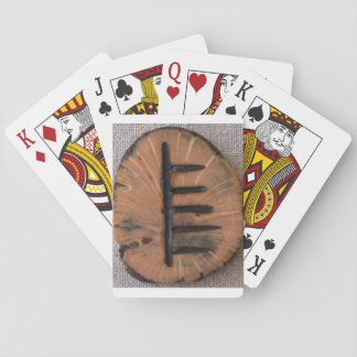 Ogham Tree Alphabet Ash Poker Cards