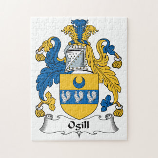Ogill Family Crest Jigsaw Puzzle