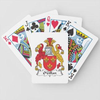 O'Gillan Family Crest Bicycle Poker Deck