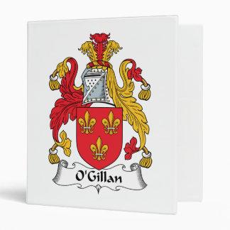O'Gillan Family Crest Binders