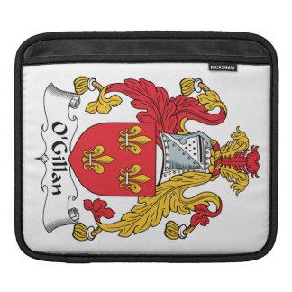 O'Gillan Family Crest iPad Sleeves