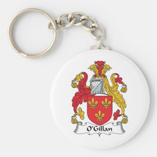O'Gillan Family Crest Keychains