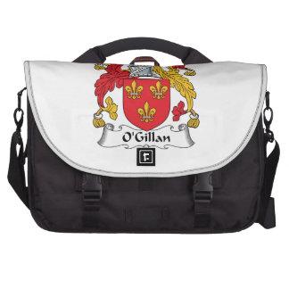 O'Gillan Family Crest Laptop Messenger Bag
