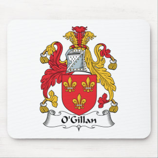 O'Gillan Family Crest Mouse Pad