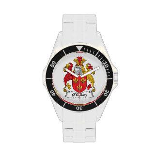 O'Gillan Family Crest Wrist Watch