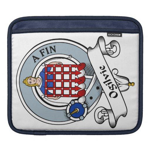 Ogilvie Clan Badge Sleeve For iPads