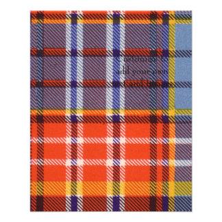 Ogilvie clan Plaid Scottish tartan Flyer