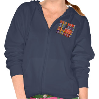Ogilvie clan Plaid Scottish tartan Hooded Pullover