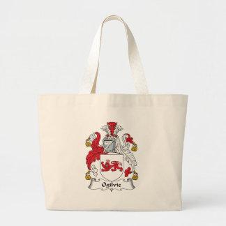 Ogilvie Family Crest Canvas Bag