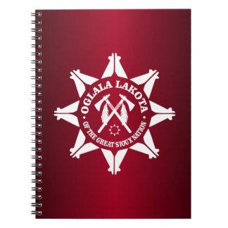 Oglala Lakota Libro De Apuntes Con Espiral