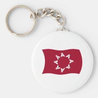 Oglala Lakota Flag Keychain