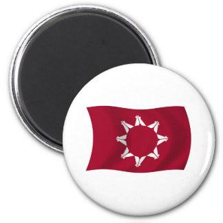 Oglala Lakota Flag Magnet