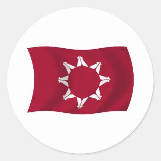 Oglala Lakota Flag Sticker