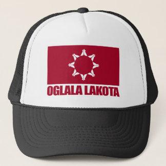 Oglala Lakota Flag Trucker Hat