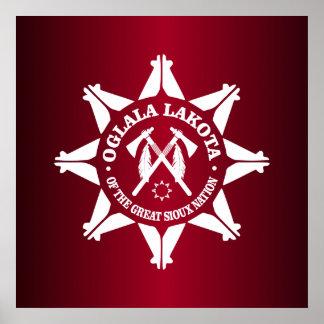 Oglala Lakota Impresiones