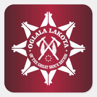 Oglala Lakota Square Sticker